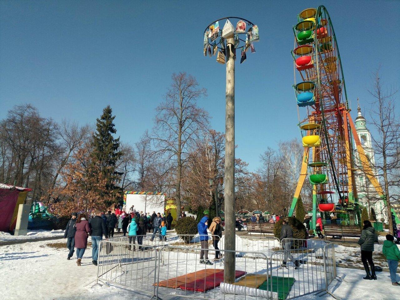 Тамбовчане проводили зиму массовыми гуляниями, фото-2