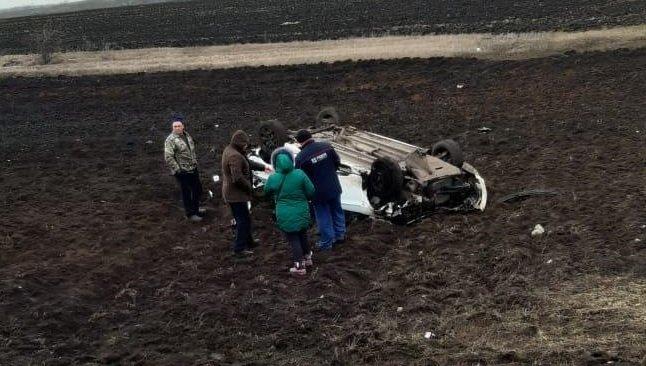 В Тамбовской области иномарка вылетела в кювет: пассажир погиб, водитель госпитализирован, фото-1