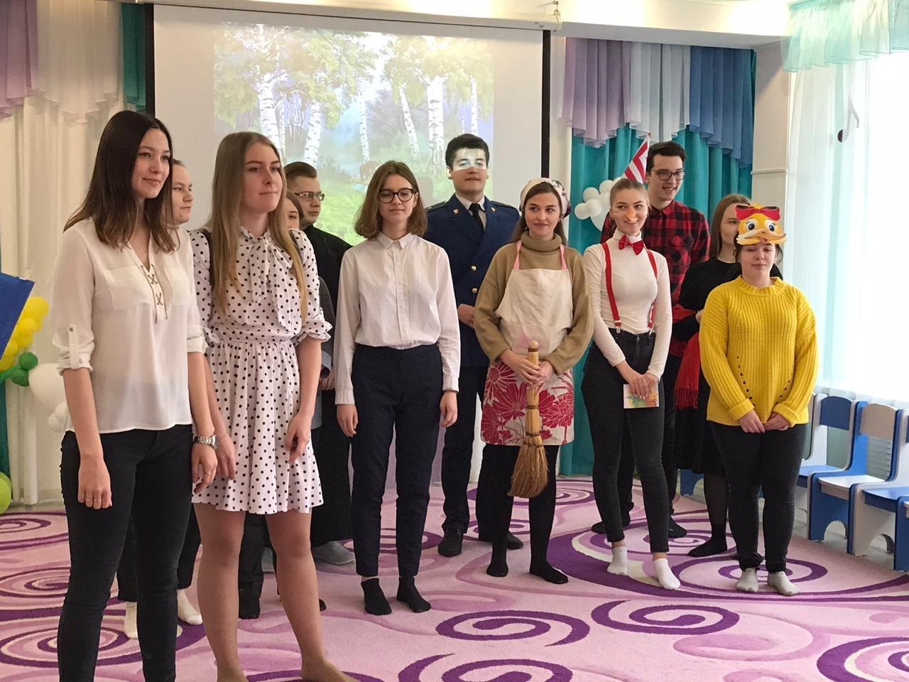 Активисты Тамбовского филиала РАНХиГС провели развлекательную программу в детском саду №18 «Ручеек», фото-1