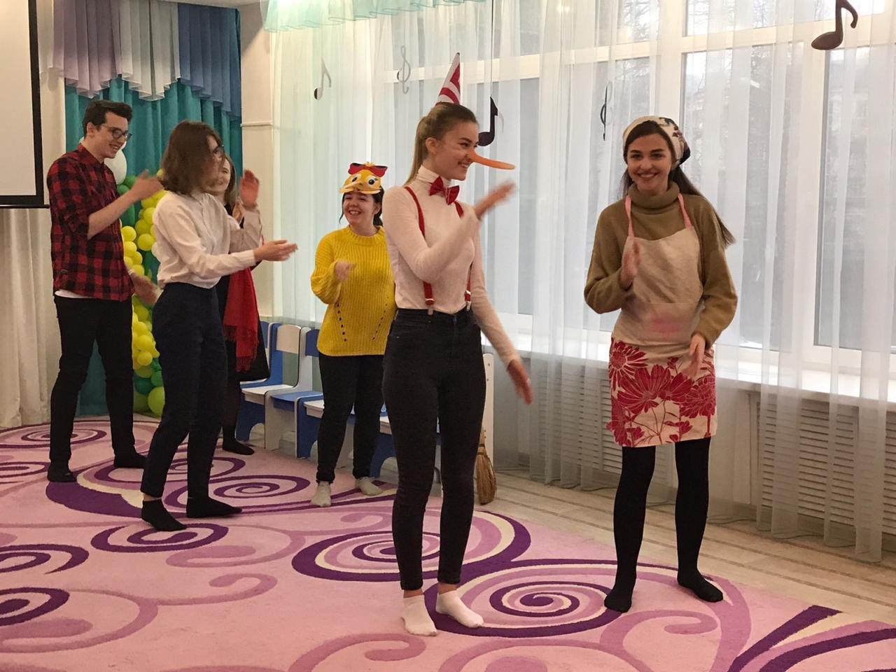 Активисты Тамбовского филиала РАНХиГС провели развлекательную программу в детском саду №18 «Ручеек», фото-2