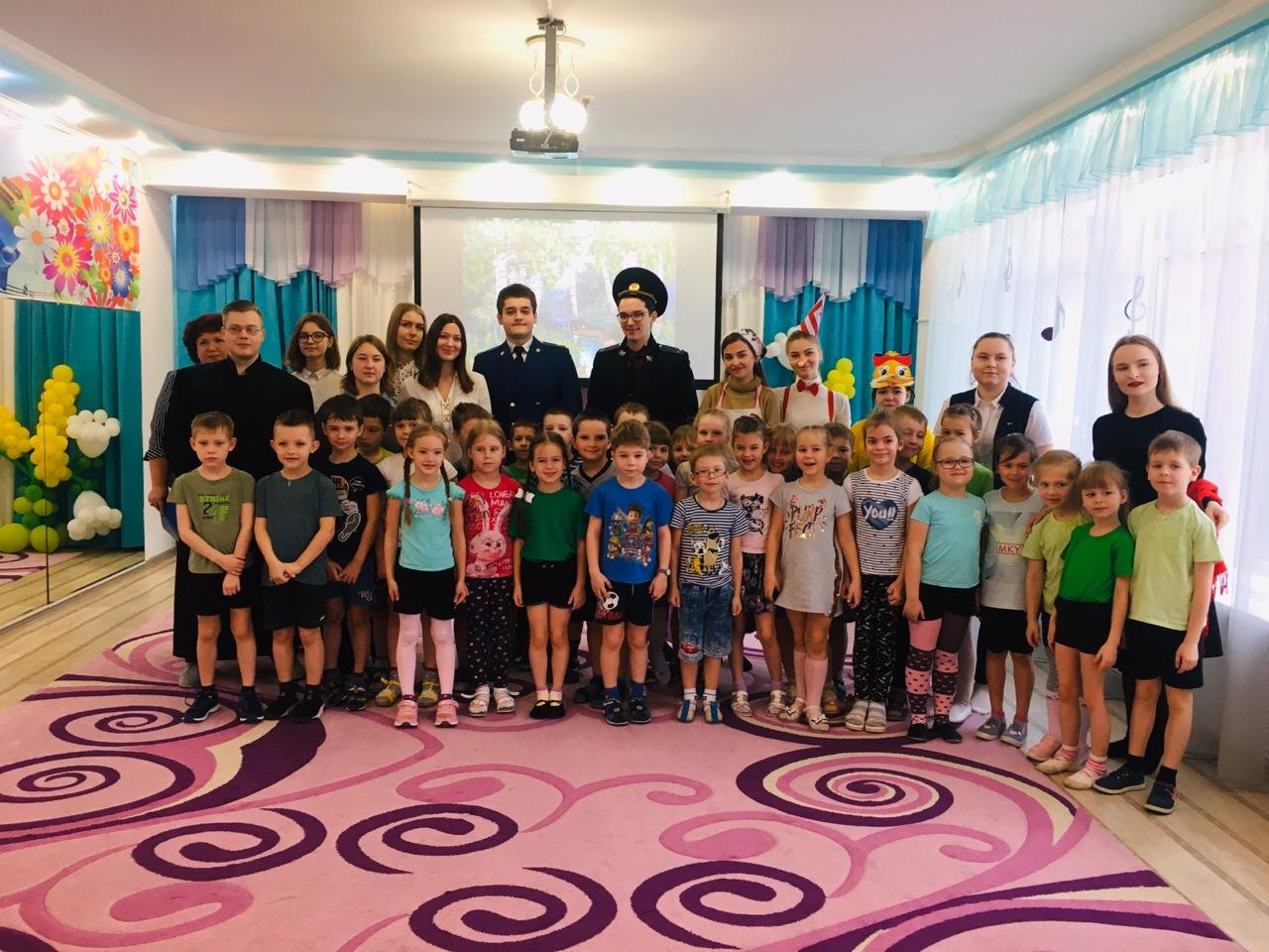 Активисты Тамбовского филиала РАНХиГС провели развлекательную программу в детском саду №18 «Ручеек», фото-4