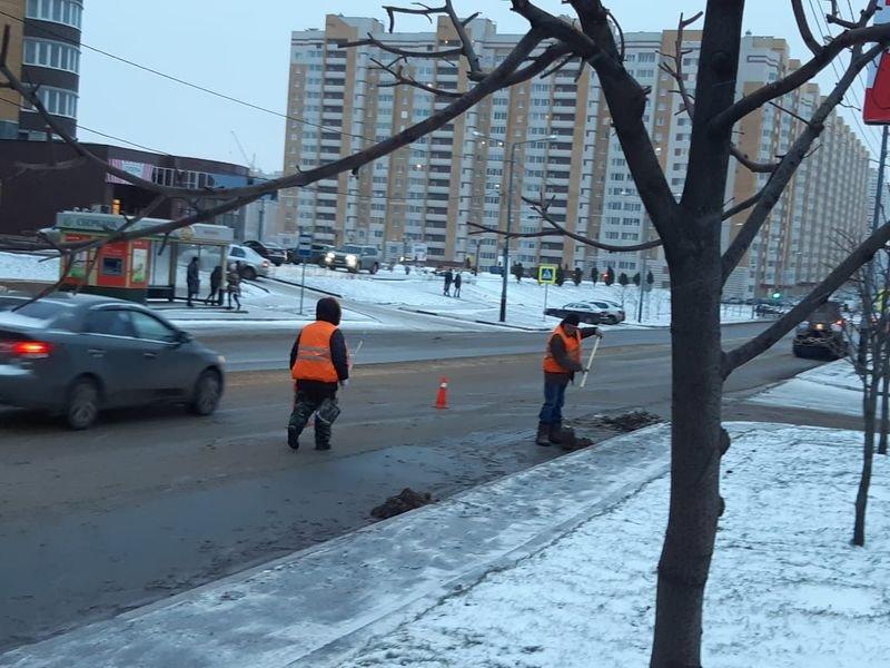В Тамбове проводят масштабную уборку улиц после зимы, фото-2