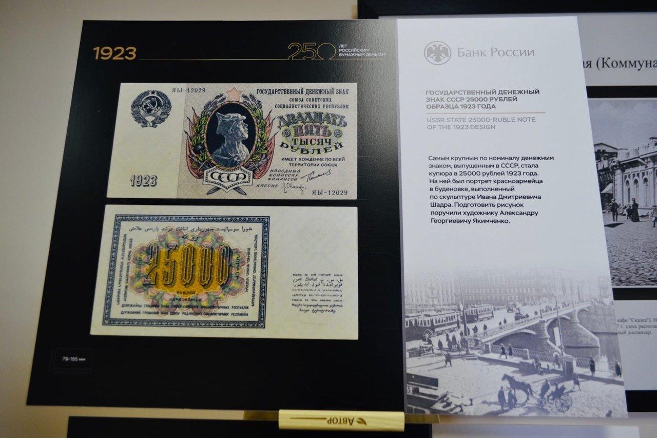В Тамбовском филиале РАНХиГС открылась выставка «250 лет Российским бумажным деньгам», фото-3