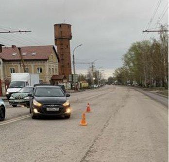 В Тамбове в столкновении двух легковых автомобилей пострадала женщина, фото-1