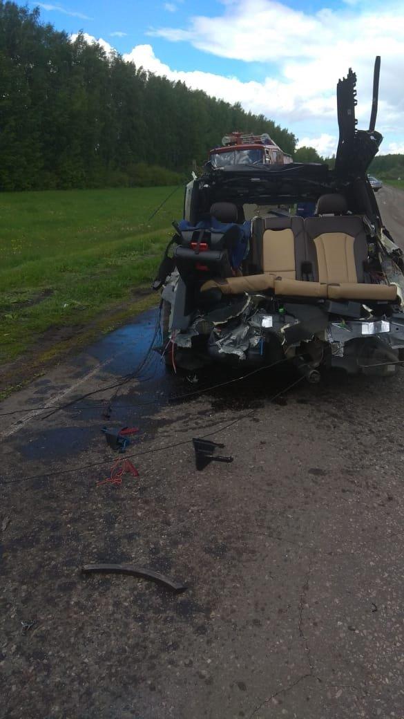 Жуткое ДТП в Ржаксинском районе унесло жизни трёх человек, фото-3