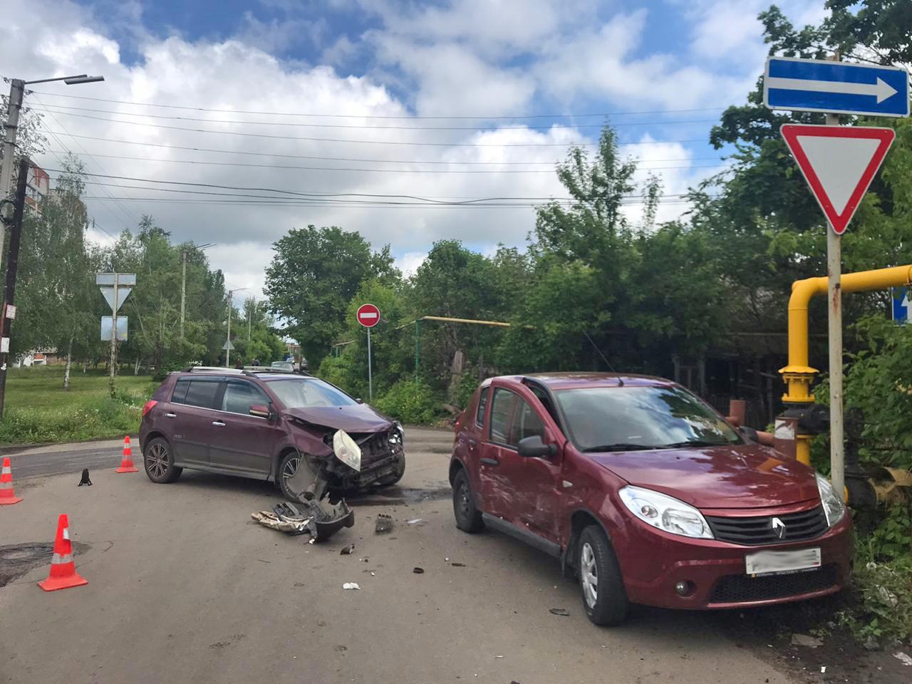 В Мичуринске две автоледи не поделили дорогу, а пострадал пешеход, фото-3