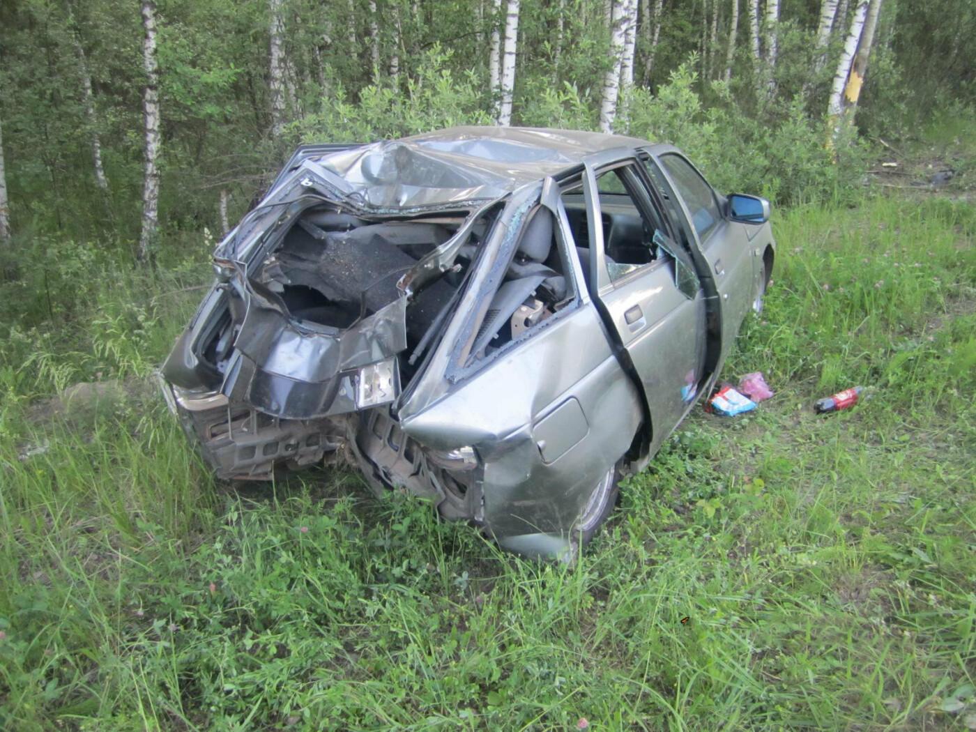 Молодой водитель не справился с управлением и вылетел с федеральной трассы в Тамбовской области, фото-3