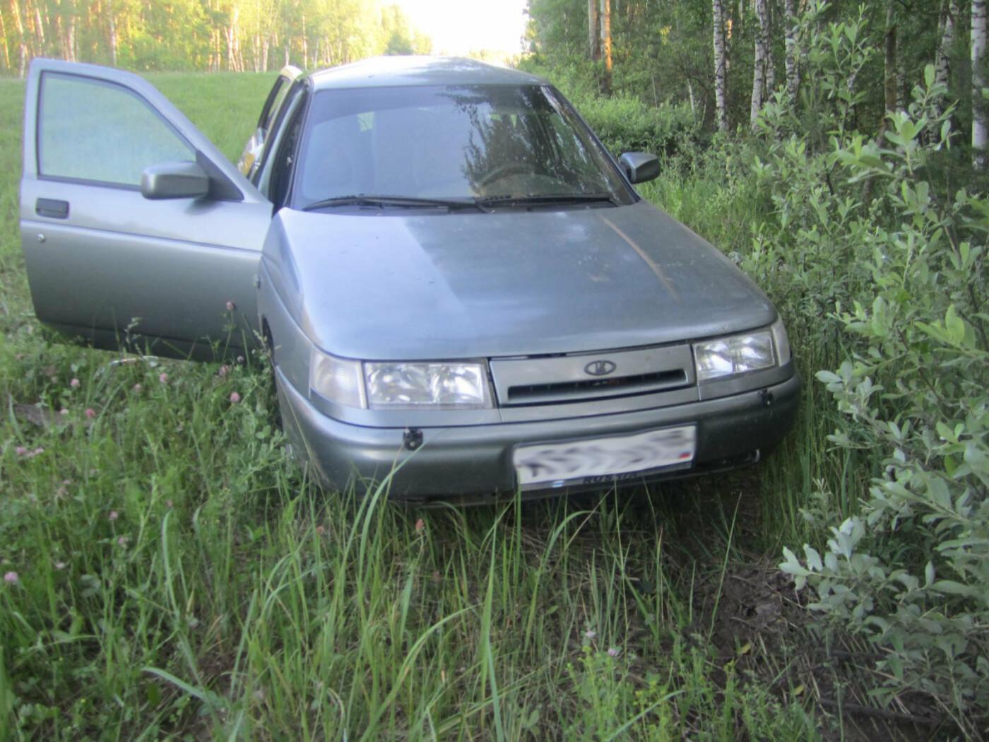 Молодой водитель не справился с управлением и вылетел с федеральной трассы в Тамбовской области, фото-1