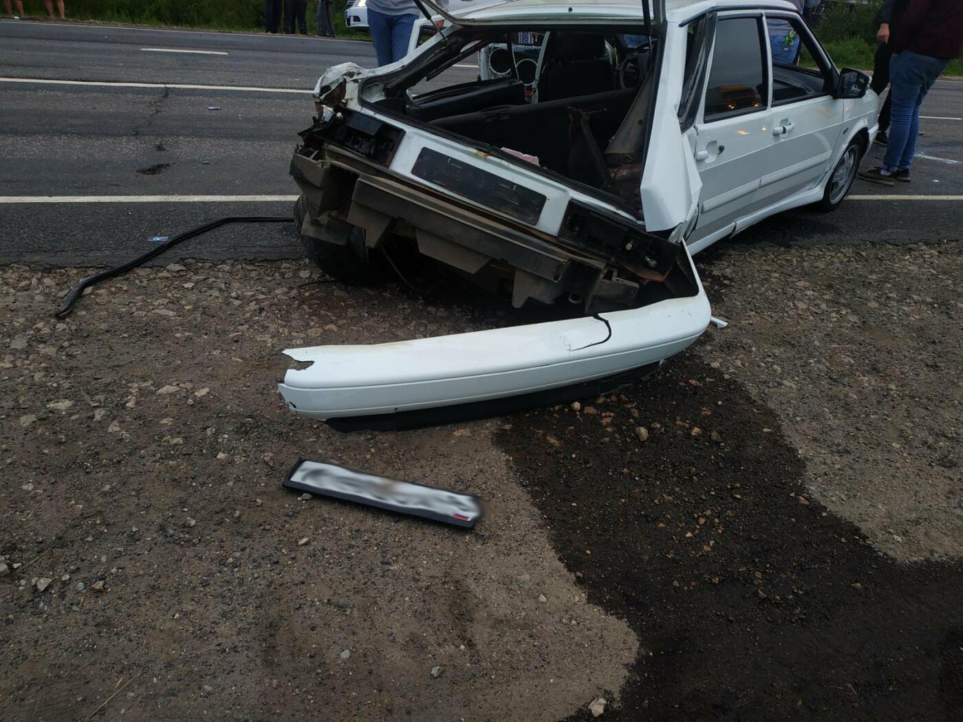 В ДТП на федеральной трассе в Тамбовской области пострадали 4 человека, фото-2