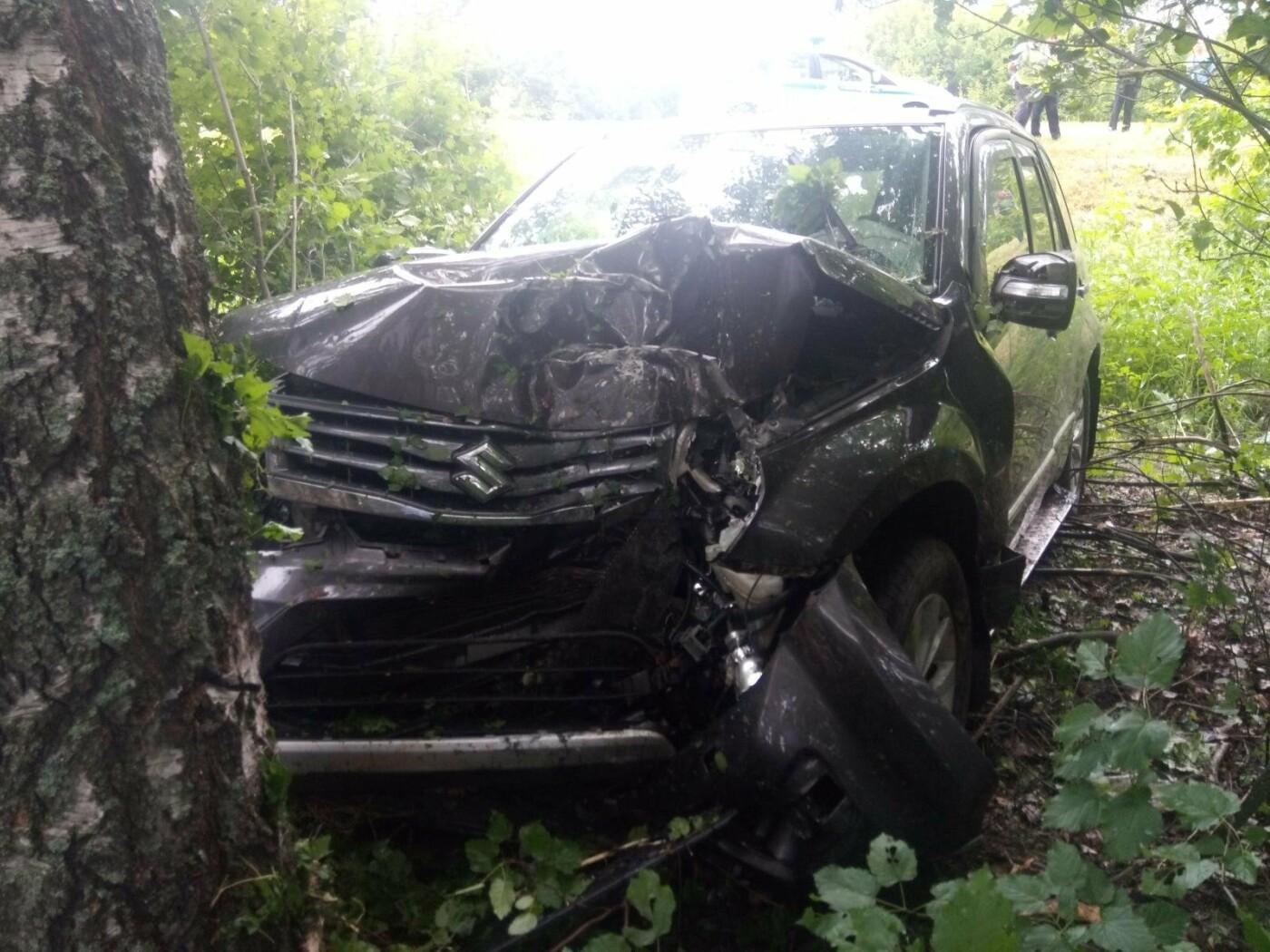 В Тамбовском районе автомобиль врезался в дерево: пострадали четверо, фото-2