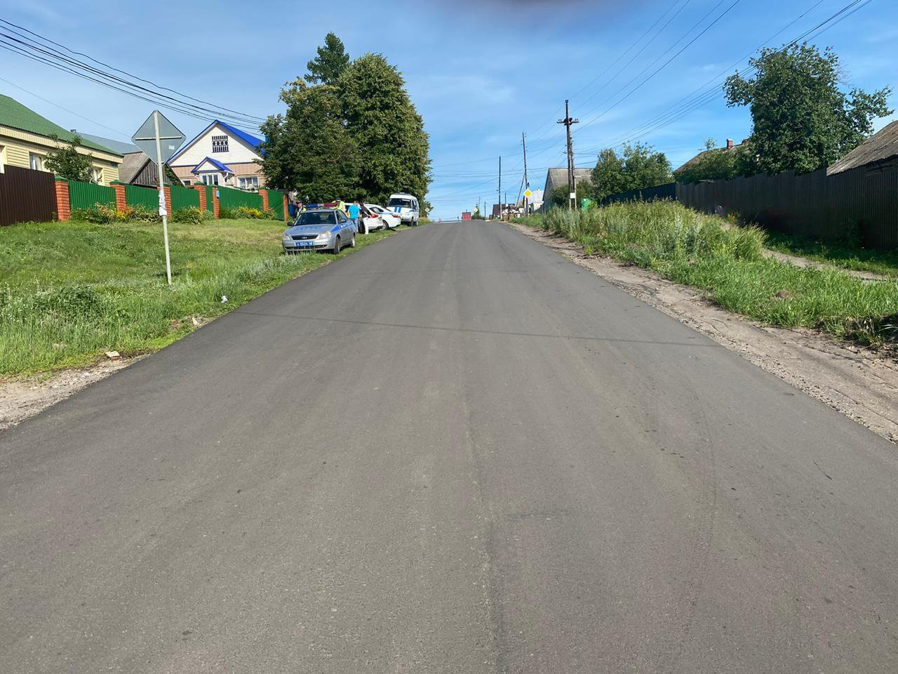 В Тамбовской области подросток на мотоцикле сбил пешехода, фото-1