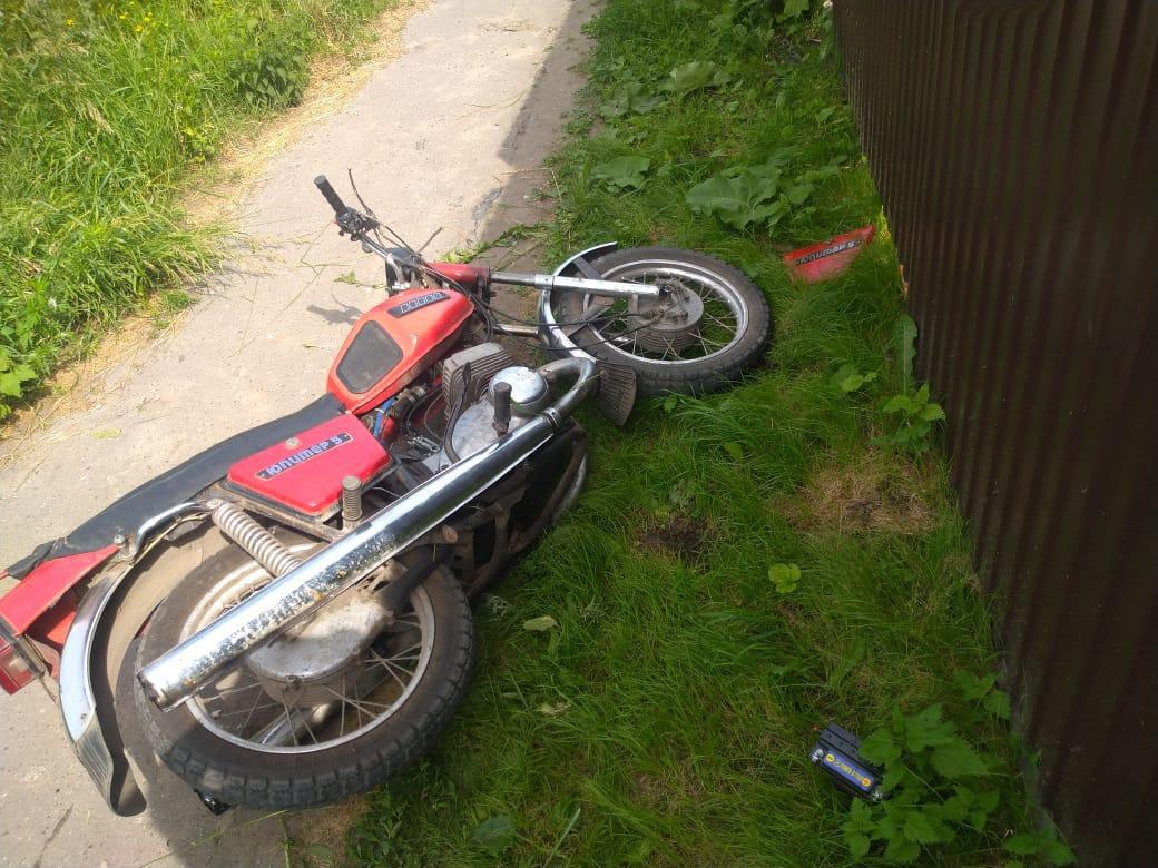 В Тамбовской области подросток на мотоцикле сбил пешехода, фото-2