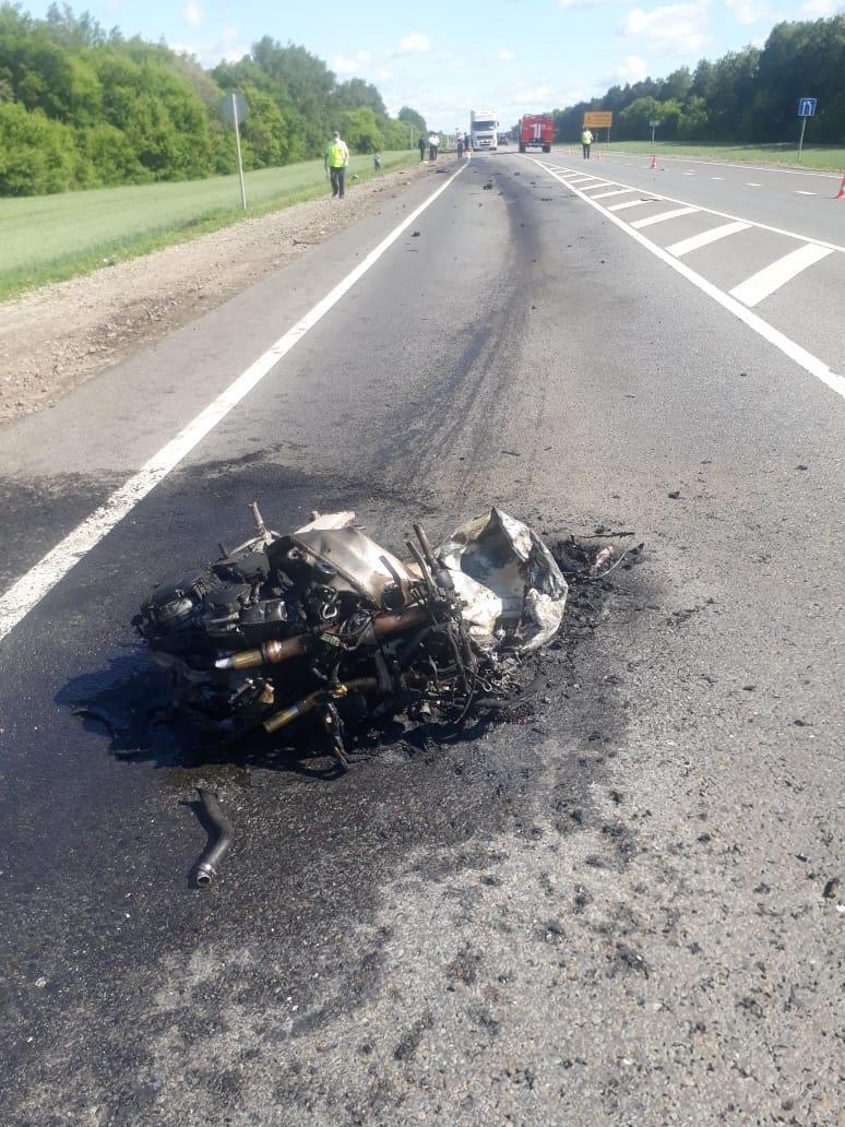 Гонки со смертью: в Тамбовской области погиб мотоциклист, фото-1