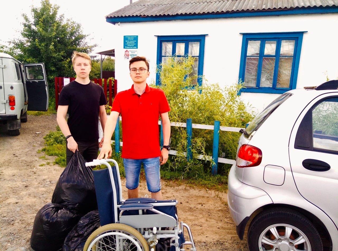 Добровольцы Тамбовского филиала РАНХиГС отправились в «Добрую точку», фото-1