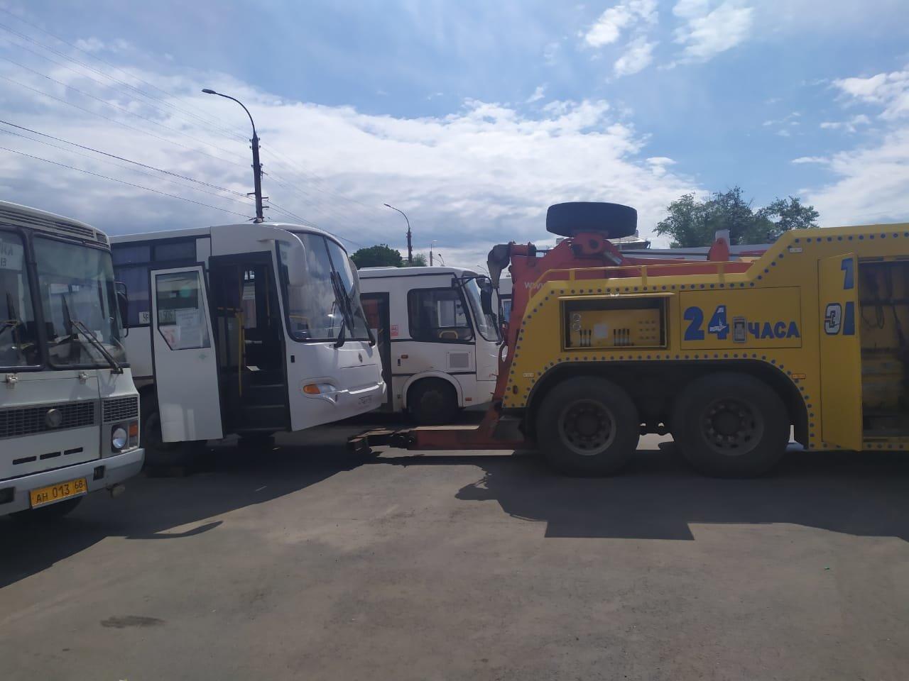 В Тамбовской области провели профилактический рейд «Автобус», фото-1