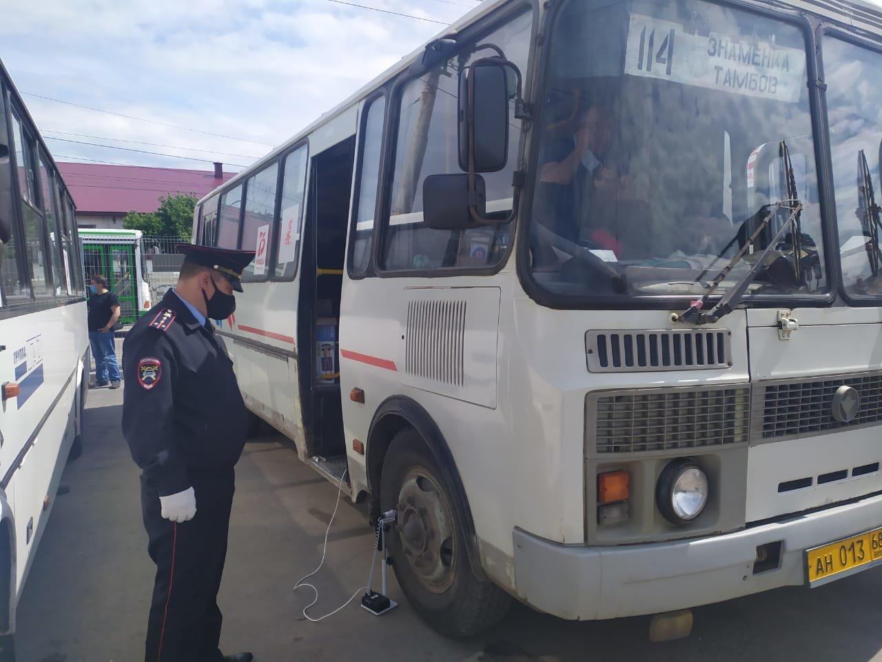 В Тамбовской области провели профилактический рейд «Автобус», фото-2