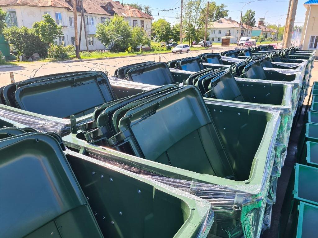 «Тамбовская сетевая компания» закупила более 1100 новых мусорных контейнеров, фото-5