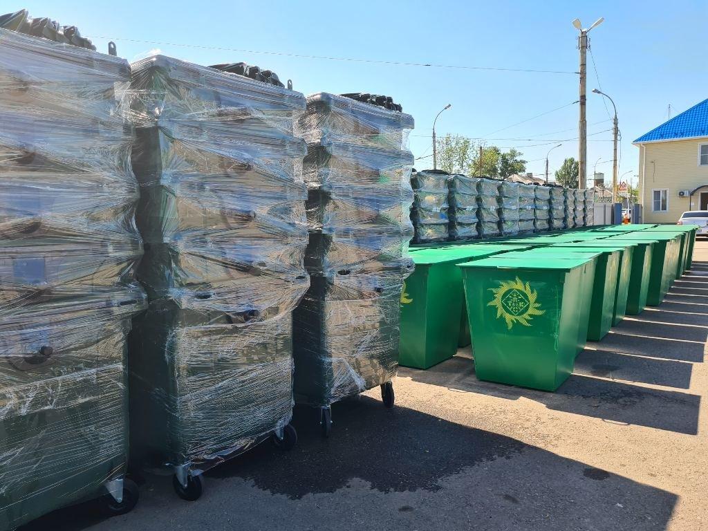 «Тамбовская сетевая компания» закупила более 1100 новых мусорных контейнеров, фото-1