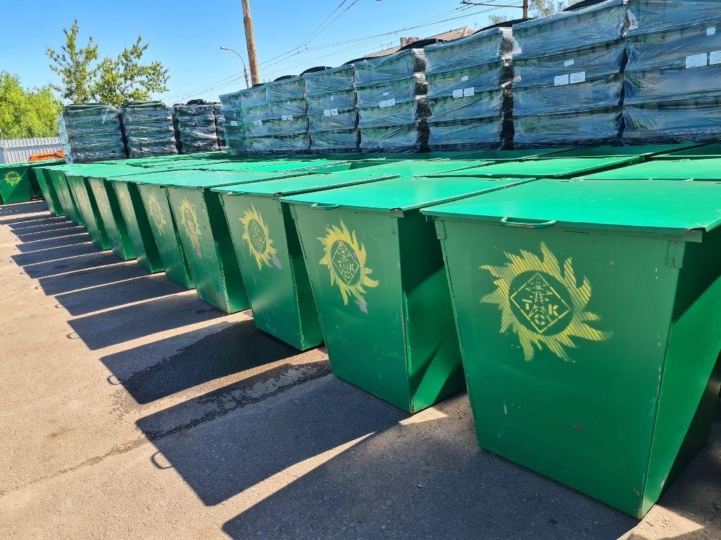 «Тамбовская сетевая компания» закупила более 1100 новых мусорных контейнеров, фото-2