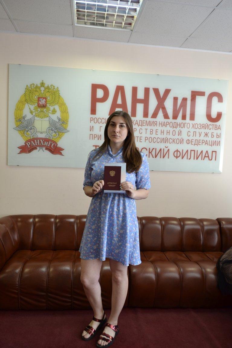 В Тамбовском филиале РАНХиГС состоялось вручение дипломов выпускникам очной формы обучения, фото-4
