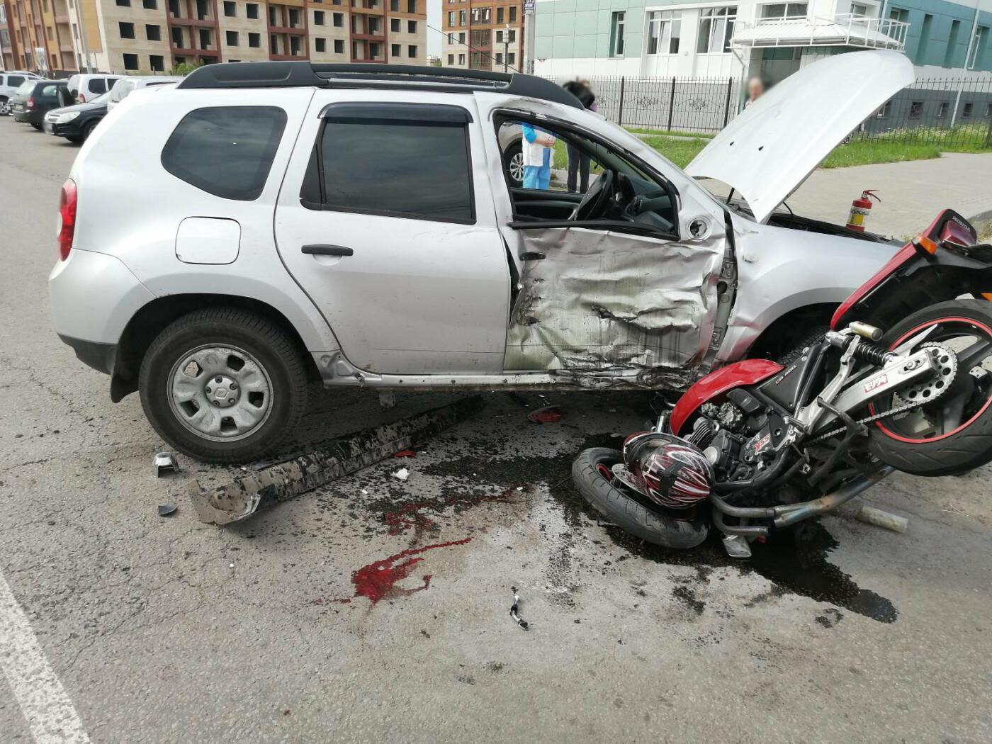 В Тамбове разбился мотоциклист, фото-1
