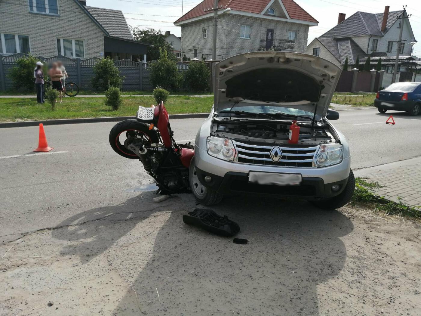 В Тамбове разбился мотоциклист, фото-2