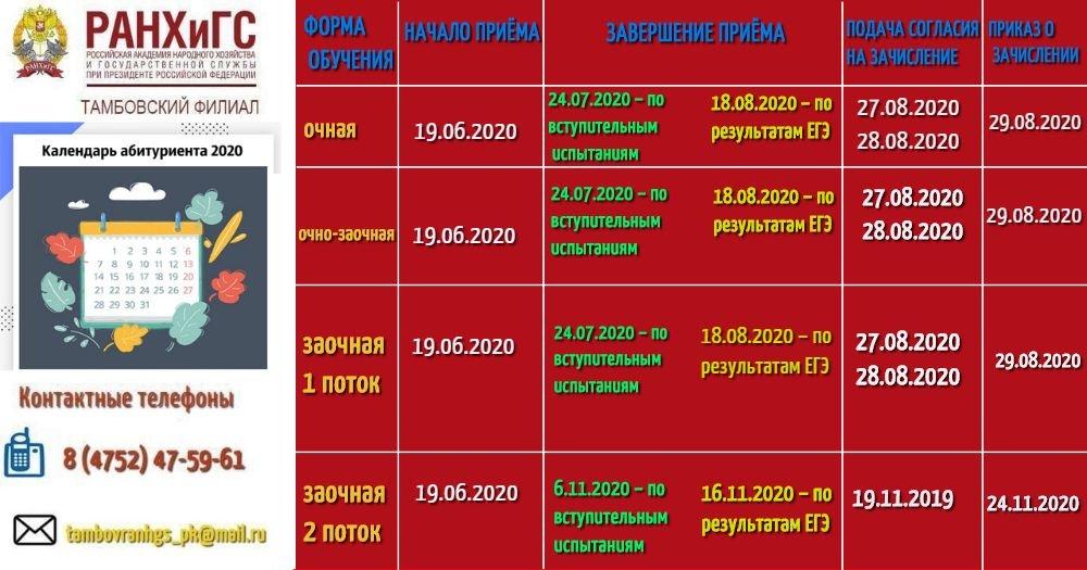 В Тамбовском филиале РАНХиГС продолжается приём документов в режиме онлайн, фото-2