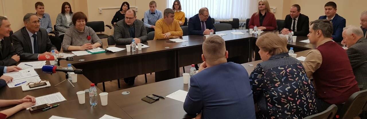 В Общественной палате Тамбовской области обсудили поправки к Конституции